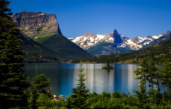 national park montana rocky mountains wallpapers photos pictures 596x380