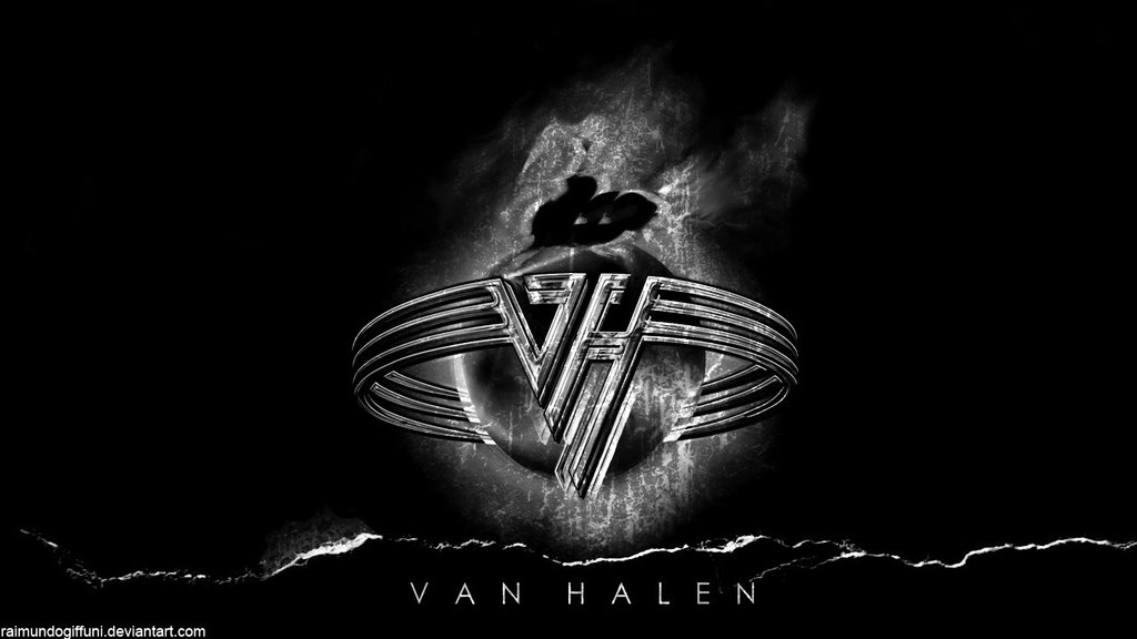 Van Halen Black Wallpaper by raimundogiffuni 1024x576
