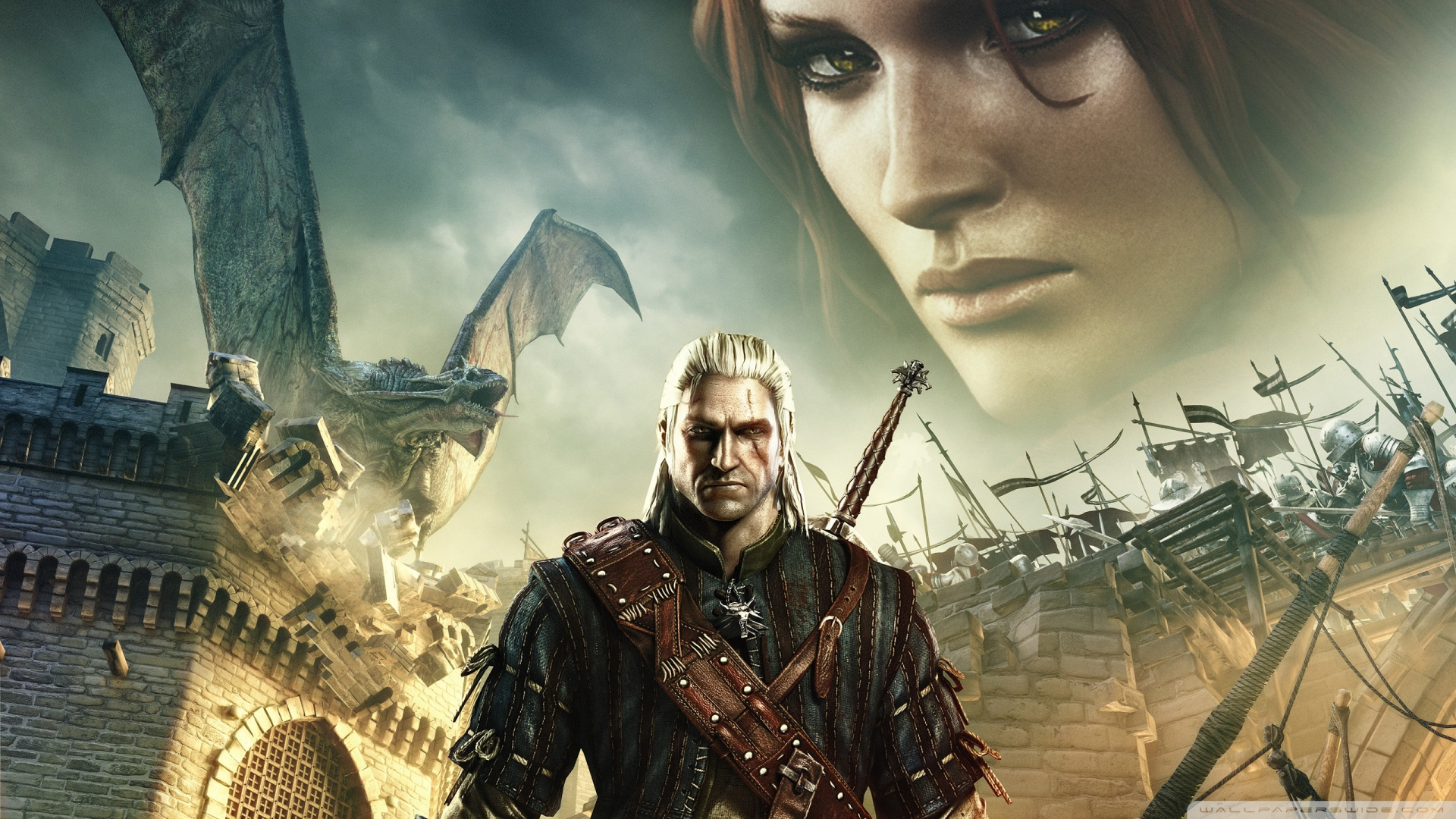 Free Download The Witcher 2 Assassins Of Kings Wallpaper 1920x1080