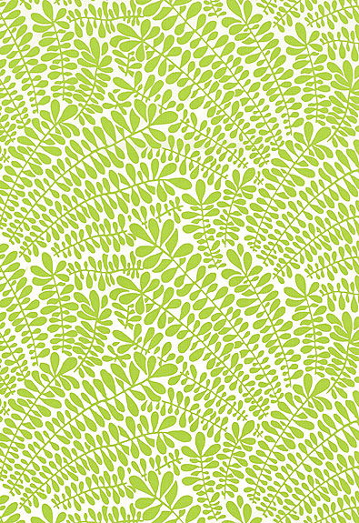 Fabulous Leaf Fronds Print [FAB 987310] Designer Wallcoverings 395x575