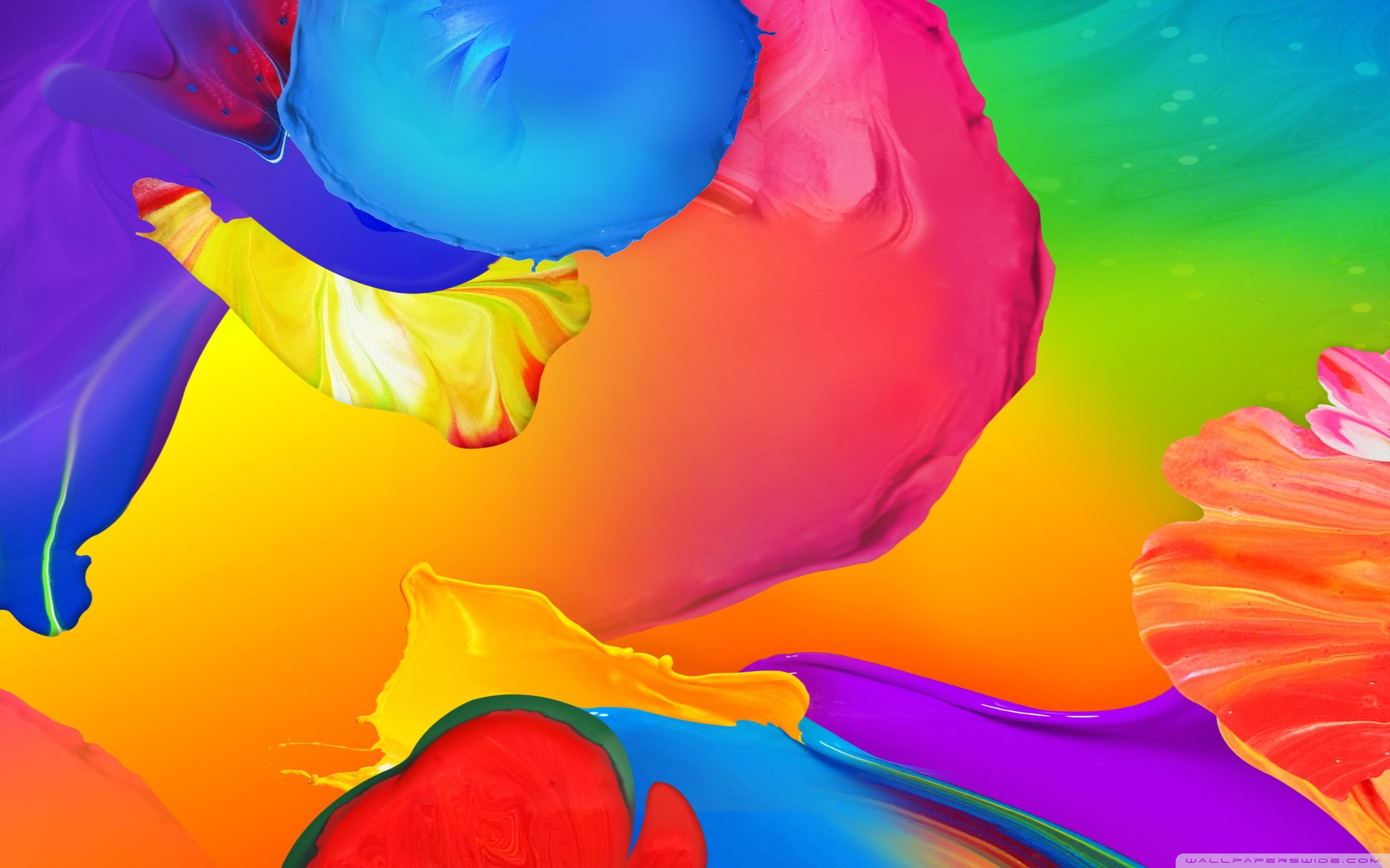 Galaxy S5 Paint 4K HD Desktop Wallpaper for 4K Ultra HD TV 2560x1600