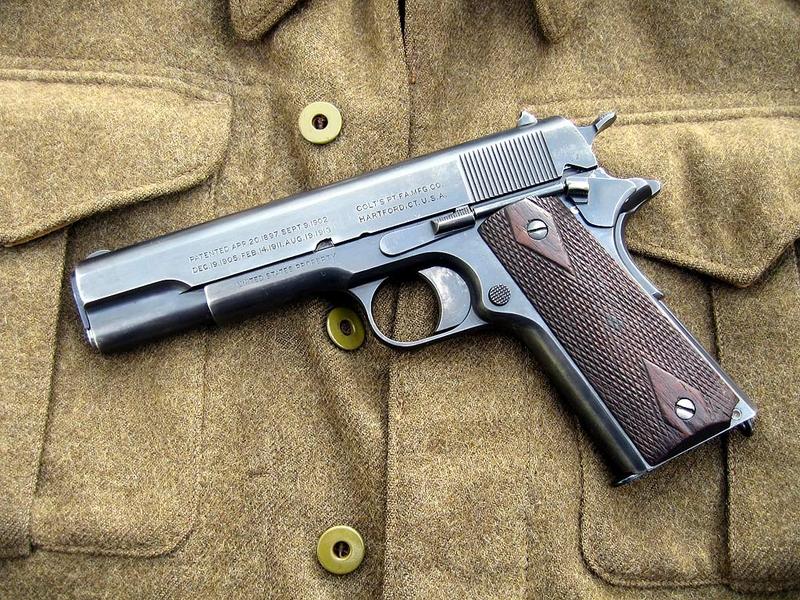 pistolsguns pistols guns weapons m1911 45acp colt 1024x768 wallpaper 800x600