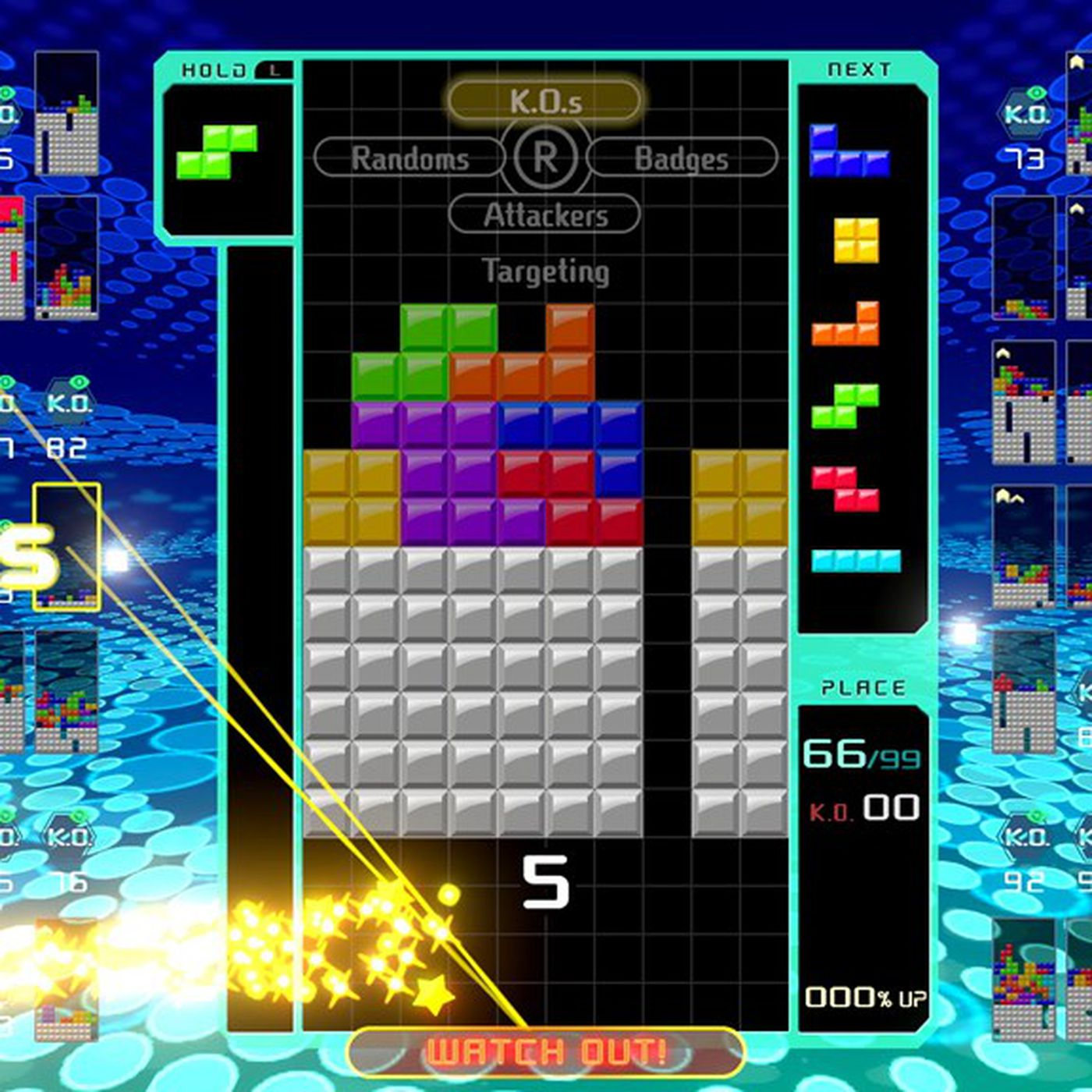 Tetris 99 is the opposite of Tetris Effect and its amazing   The 1400x1400