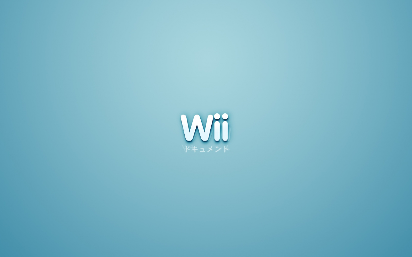 HD Desktop Wallpaper Nintendo Wii Wallpapers 9 Blue Wii Wallpaper 1600 1600x1000
