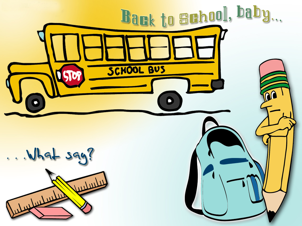 HD Back to School Wallpapers and Back to School Backgrounds 1152x864