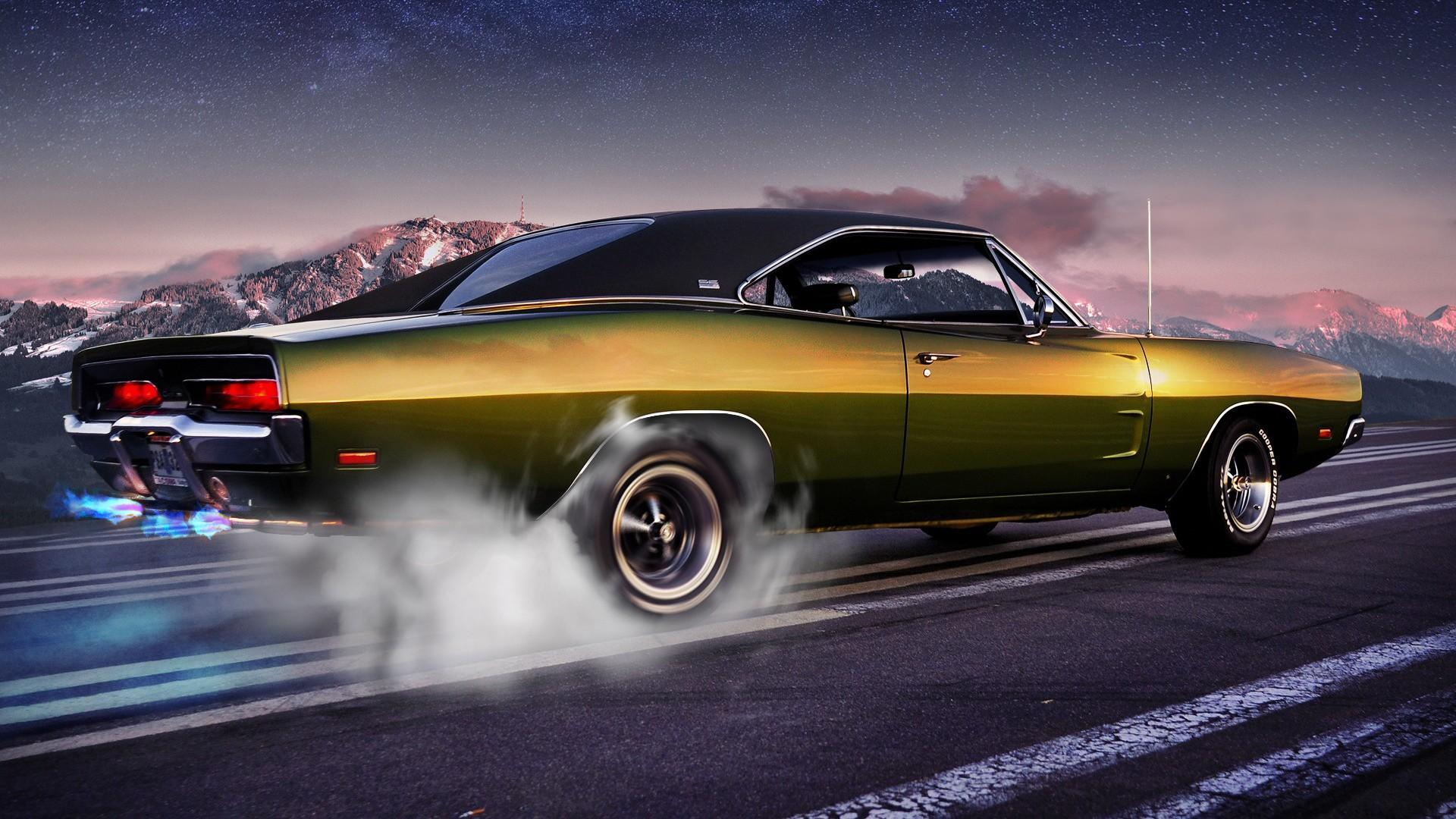 Classic Muscle Car Wallpaper - iBackgroundWallpaper