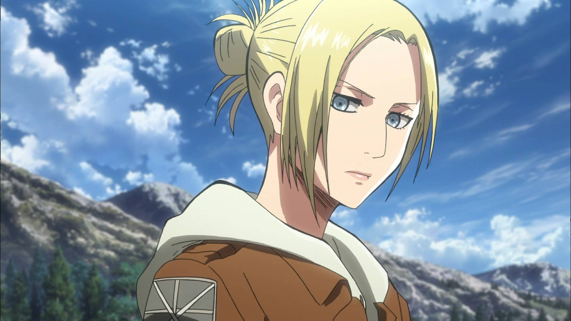 annie leonhart   Attack on Titan Wallpaper 1920x1080