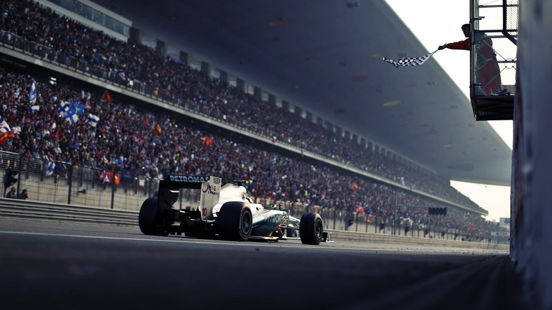Mercedes f1 hdwallpaper 1