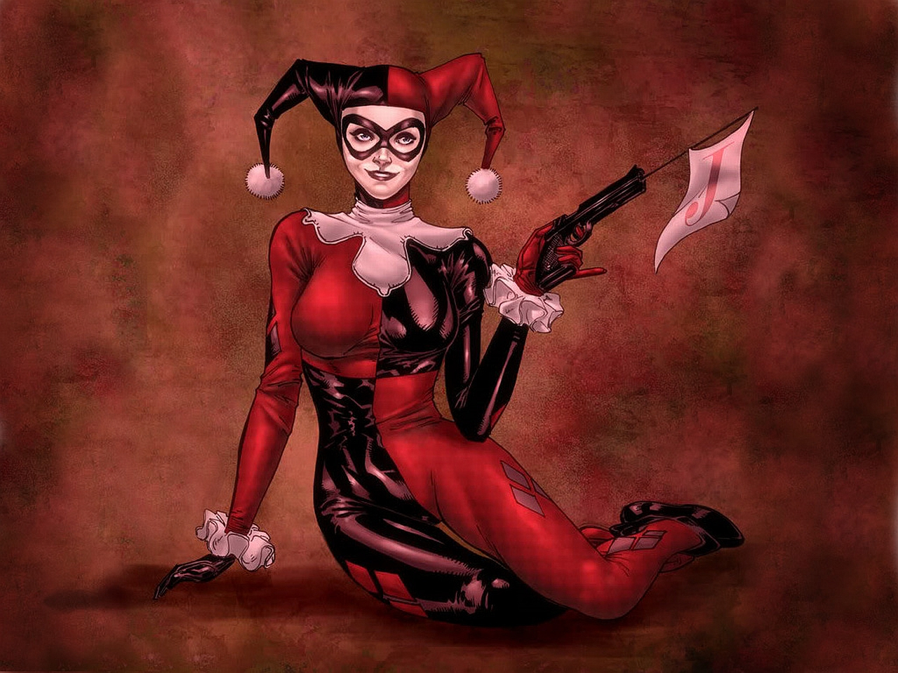 Harley Quinn Fonds dcran Arrires plan 1280x960 ID263191 1280x960