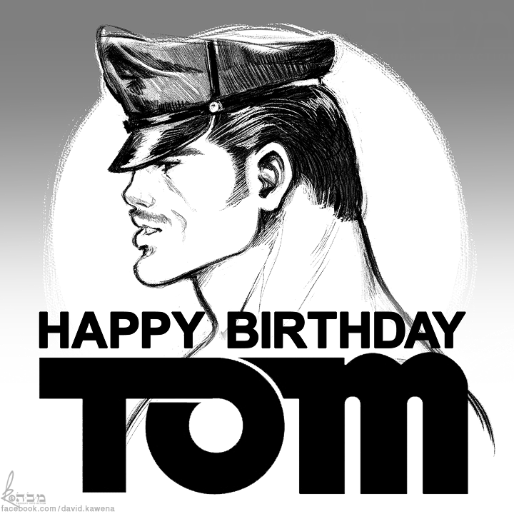 Tom of Finland Homage by davidkawena 720x720