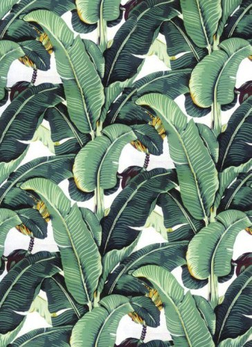 Martinique banana leaf wallpaper 364x500