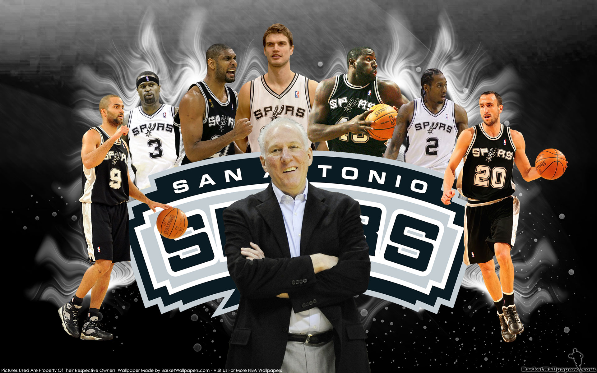San Antonio Spurs desktop image San Antonio Spurs wallpapers 1920x1200