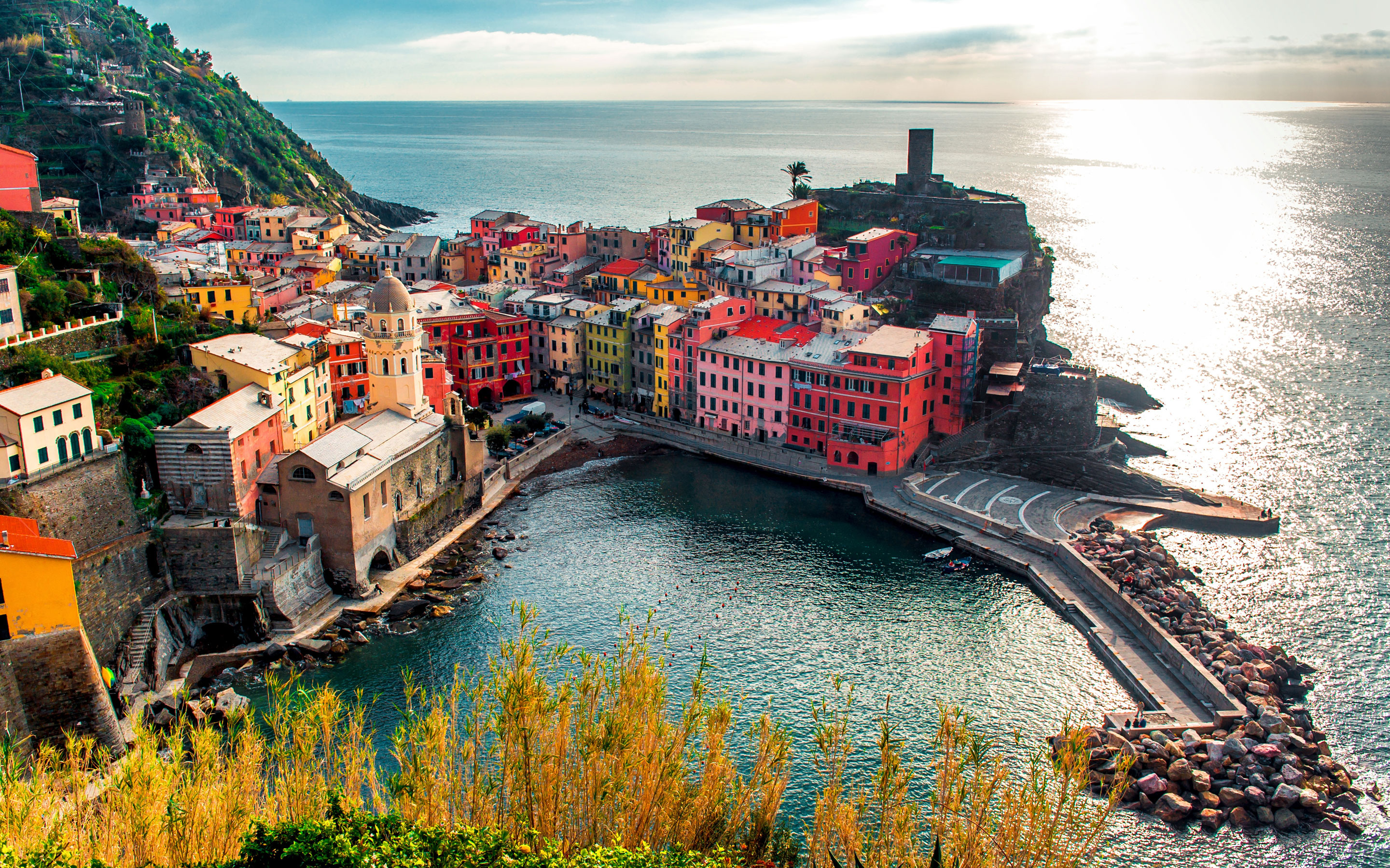 30 Vernazza HD Wallpapers Background Images 2880x1800
