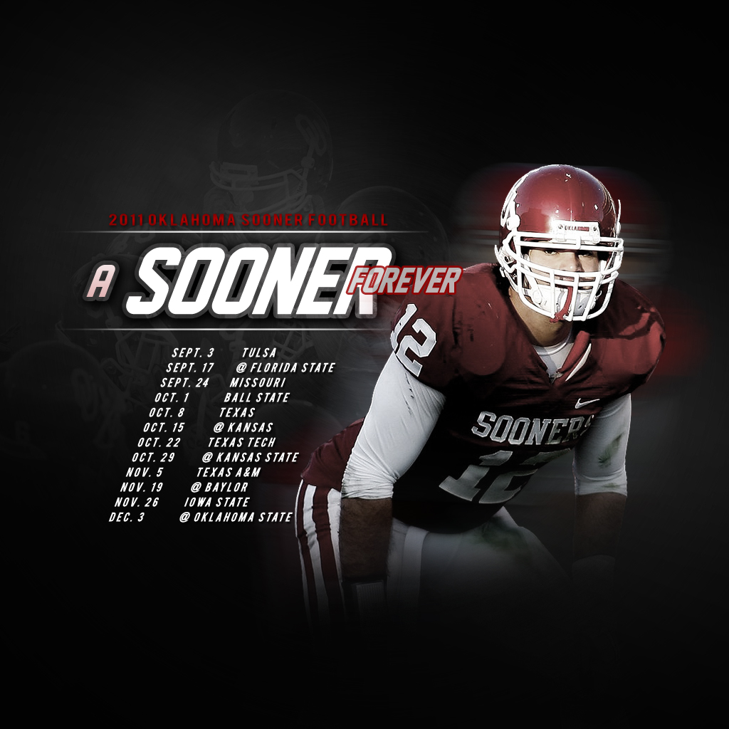 Ou Football Wallpaper 1024x1024