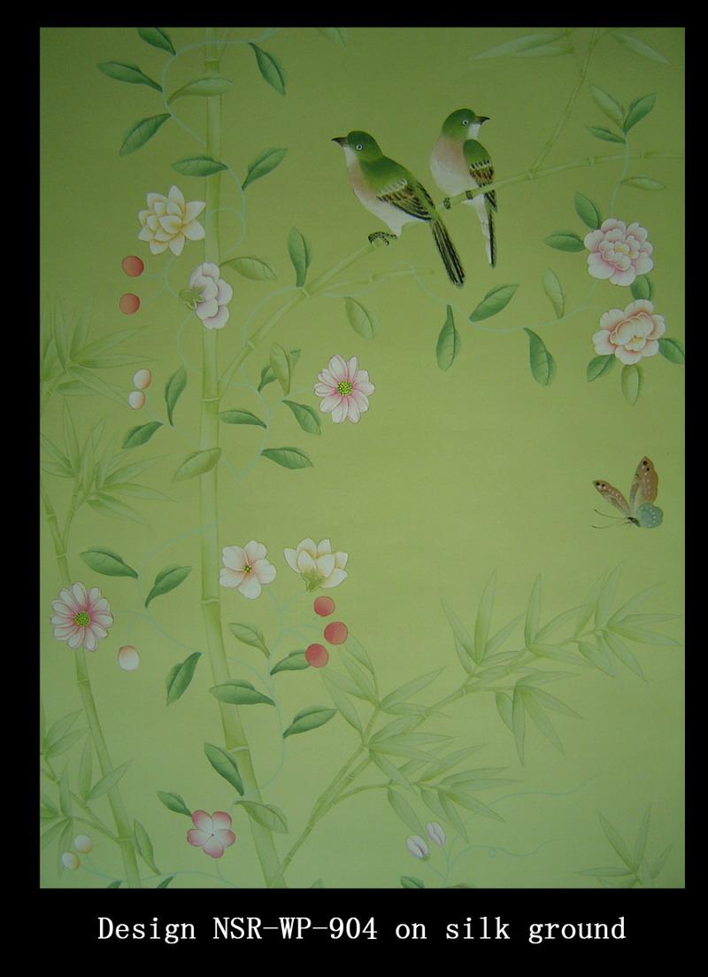 chinese wallpaper chinoiserie wallpaper silk wallpaper hand 800x1103