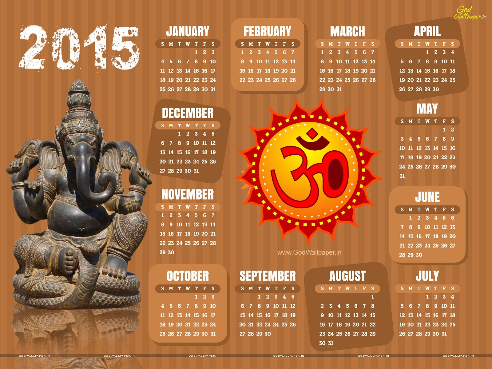 2015 Year Calendar Wallpaper Download 2015 Calendar by Month 1600x1200