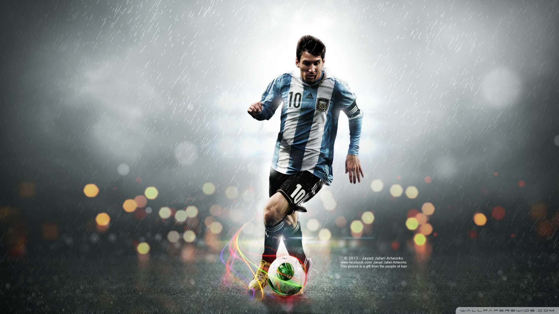 Wallpaper Leo Messi 10 Wallpaper 1080p HD Upload at February 5 2014 1920x1080