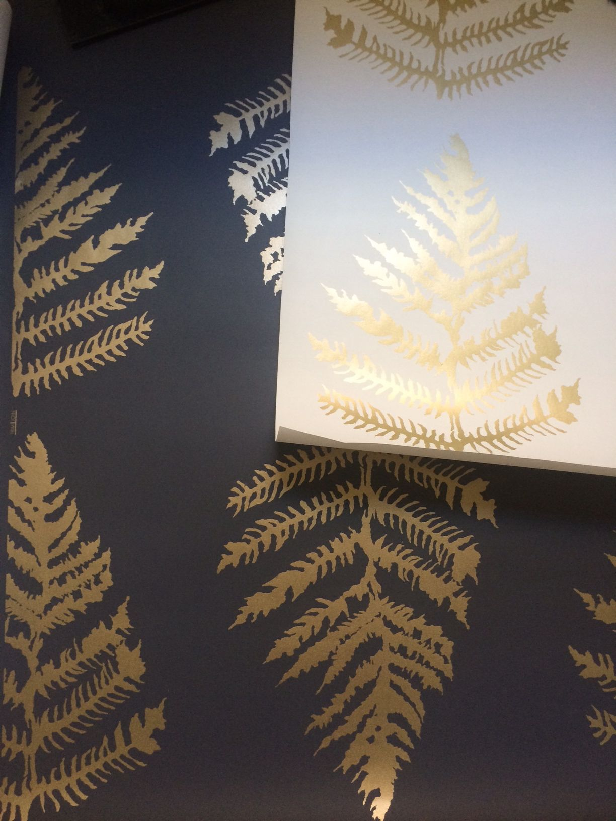 New Wallpaper from Erica Tanov Inspired by Nature Fern wallpaper 1224x1632