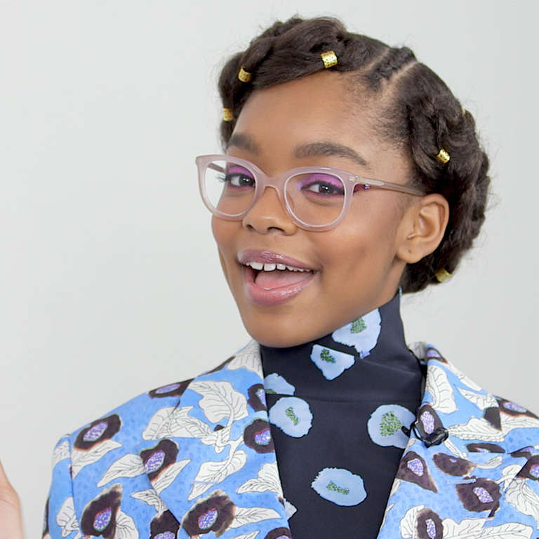 Actor Marsai Martin on Little Black ish and Owning Your 768x768