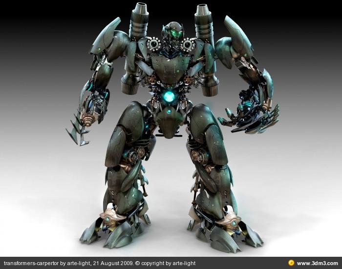 THE BEST NEW WALLPAPER COLLECTION 3D transformer robot wallpaper 700x550