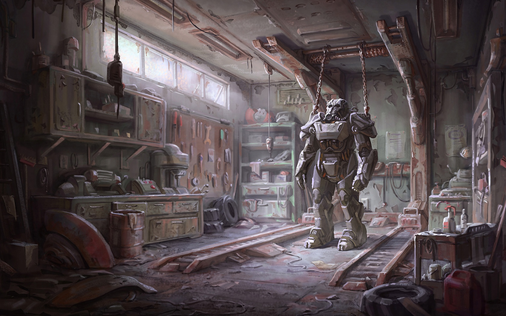Fallout 4 Armour Wallpapers HD Wallpapers 1680x1050