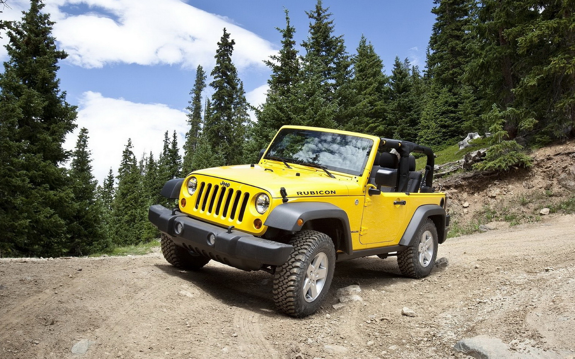 Yellow Jeep Wrangler wallpapers and images   wallpapers pictures 1920x1200