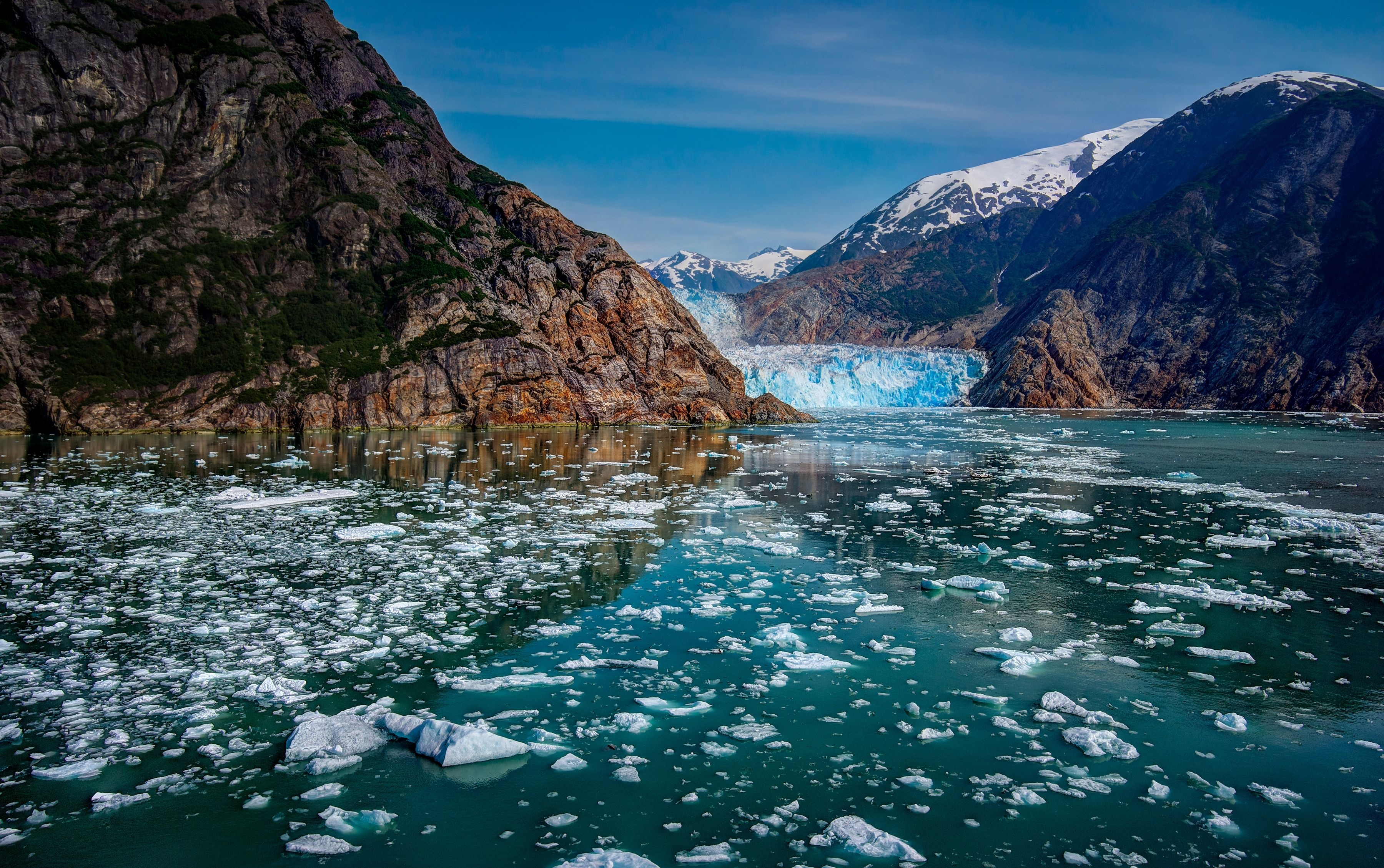 Alsek River Valley, Alaska  № 2454906  скачать