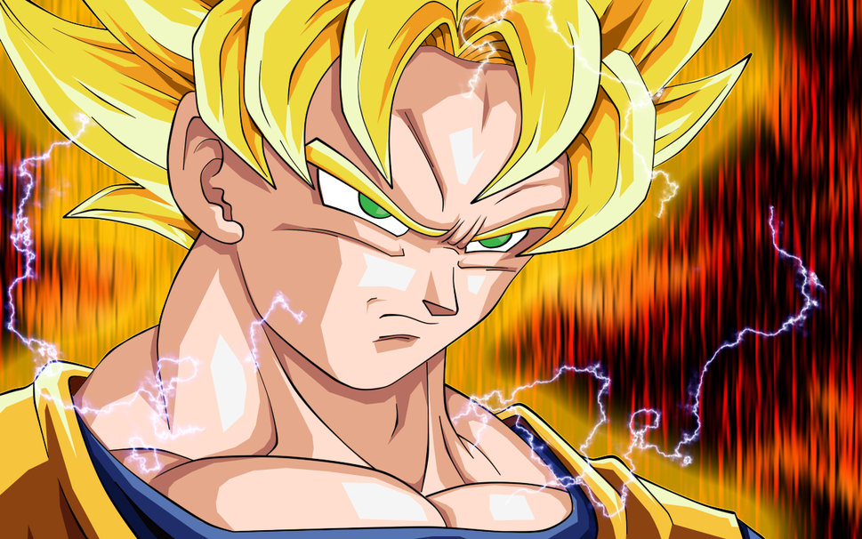 Super Saiyan Goku wallpaper   ForWallpapercom 969x606