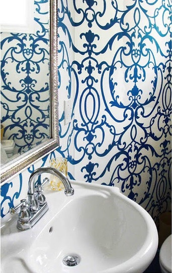 Choosing wallpaper with the right design and pattern can add character 341x540