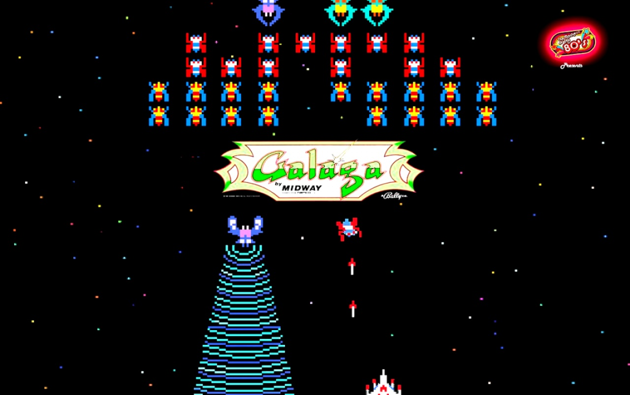 80s Mania Galaga wallpapers 80s Mania Galaga stock photos 1280x804