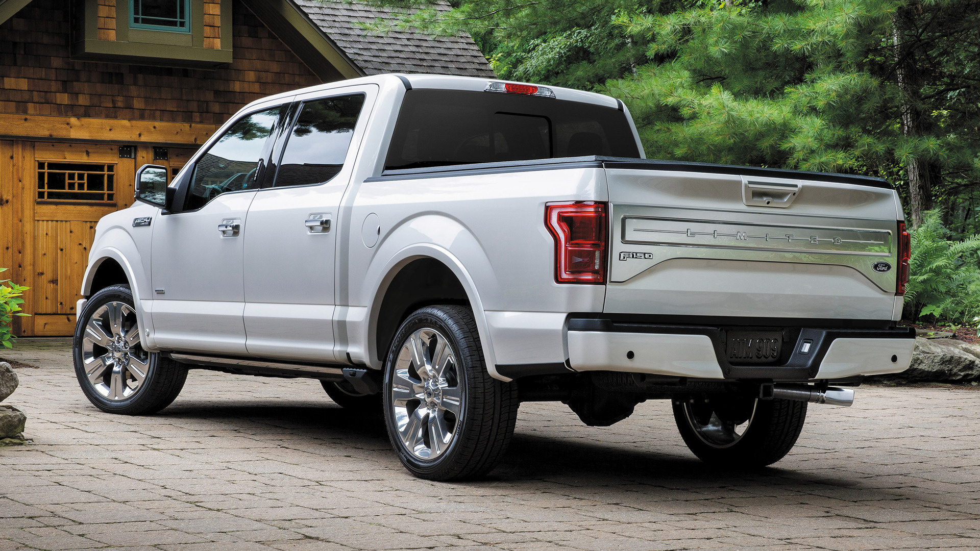 Ford F 150 Limited SuperCrew 2016 Wallpapers and HD Images 1920x1080