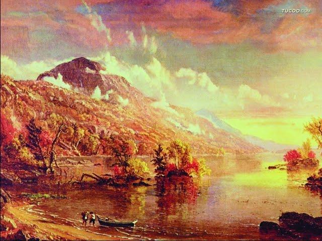 Oil Paintings Western Art Painting Landscape Wallpaper 640x480