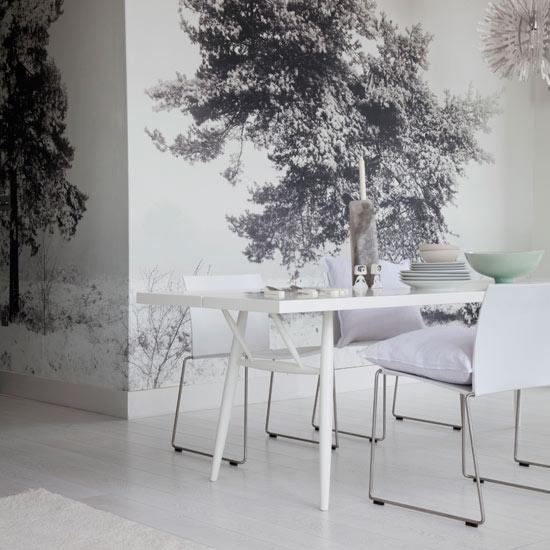 Fabric Wallpaper Feature Wallpaper Ideas 550x550