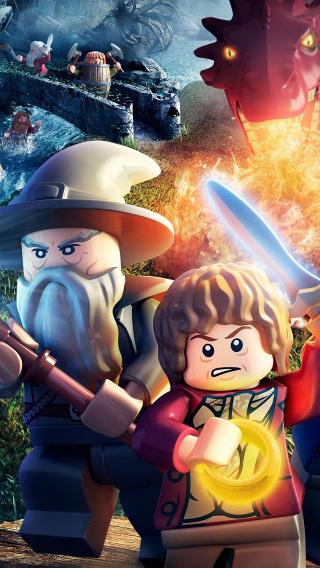 LEGO The Hobbit Wallpaper   iPhone Wallpapers 640x1136