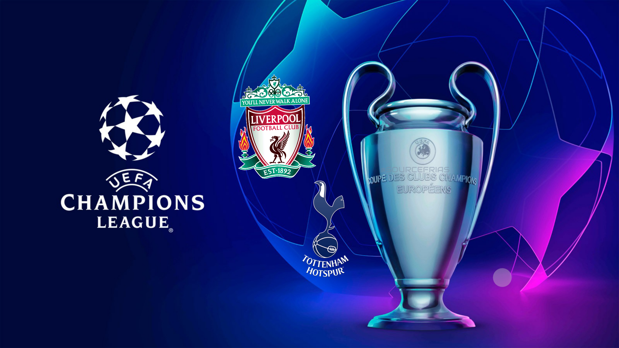 Champions League Final 2019   Liverpool vs Tottenham   World in Sport 2560x1440