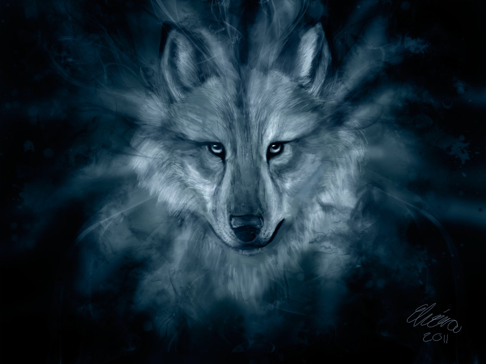 Hd wallpaper wolf - Download Wolf Spirit Hd Wallpaper By Wolfhowl10 2685 Full Size