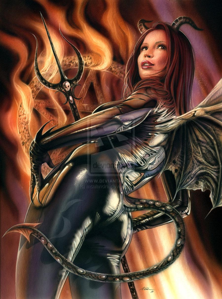 Devil Girl by mcalandra 900x1209