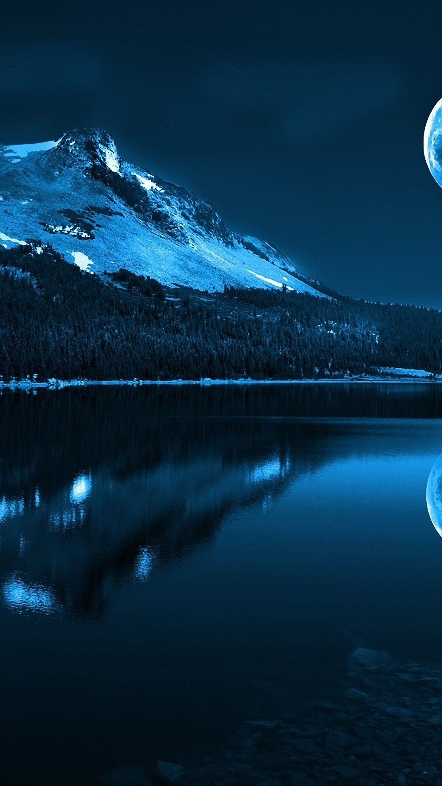 HD 1440x2560 full moon motorola moto wallpapers 1440x2560