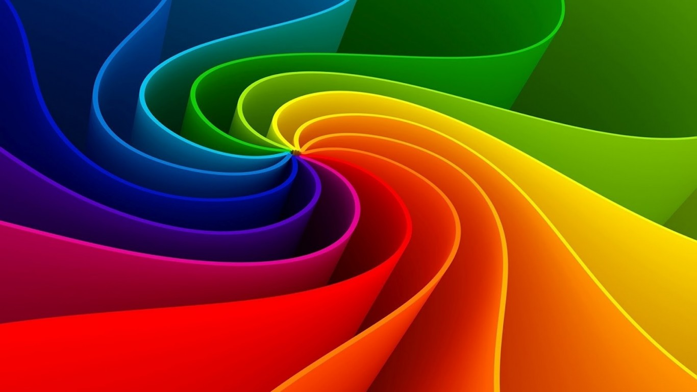 Pretty Colorful Wallpapers 1366x768