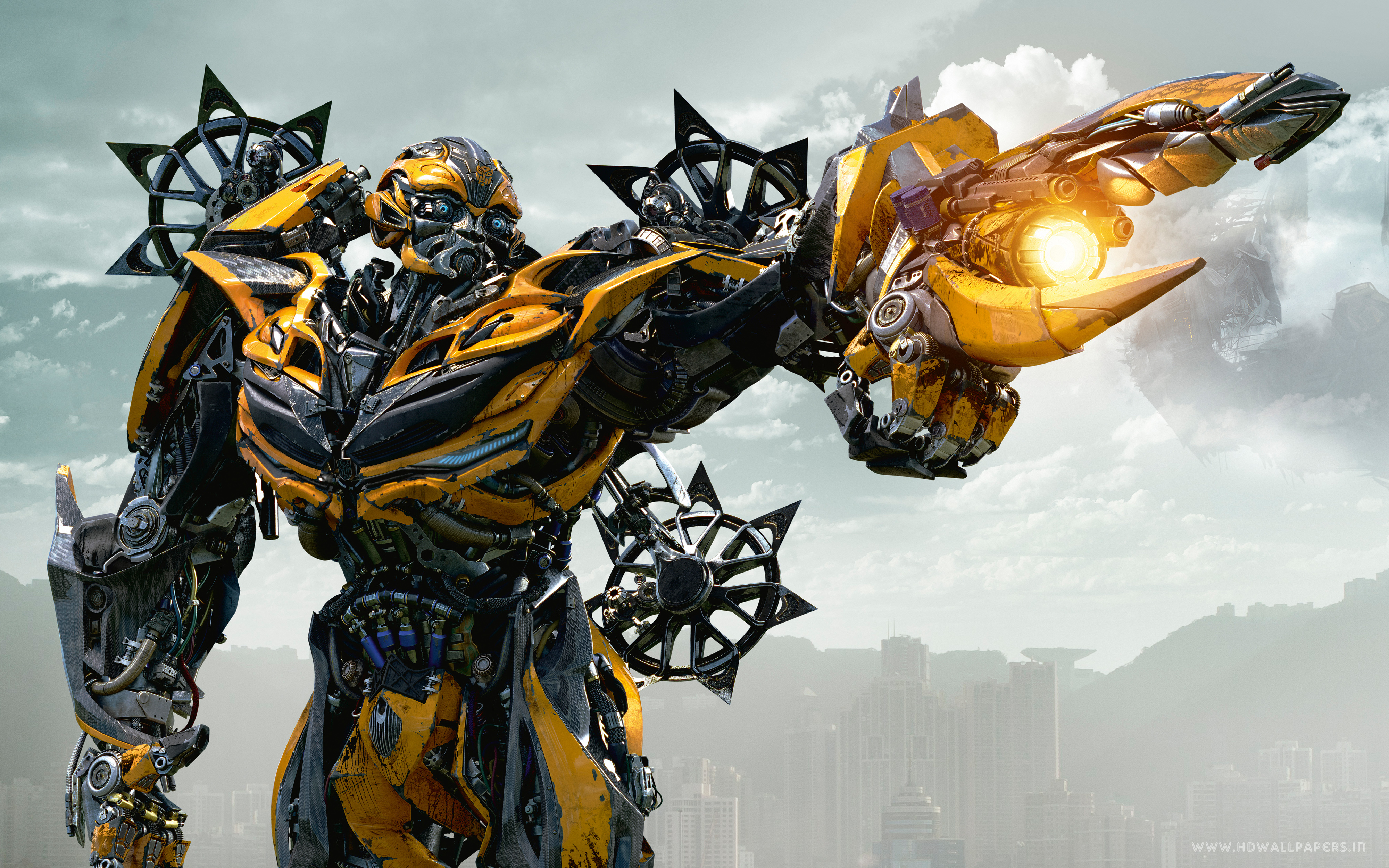 Showing Transformers Wallpaper Bumblebee 4000x2500