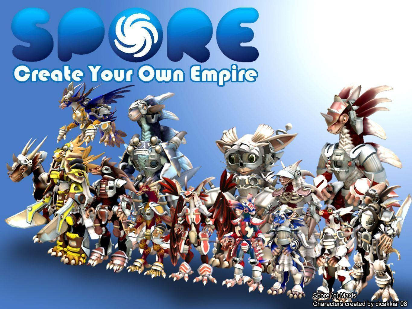 Spore Wallpapers 1365x1024