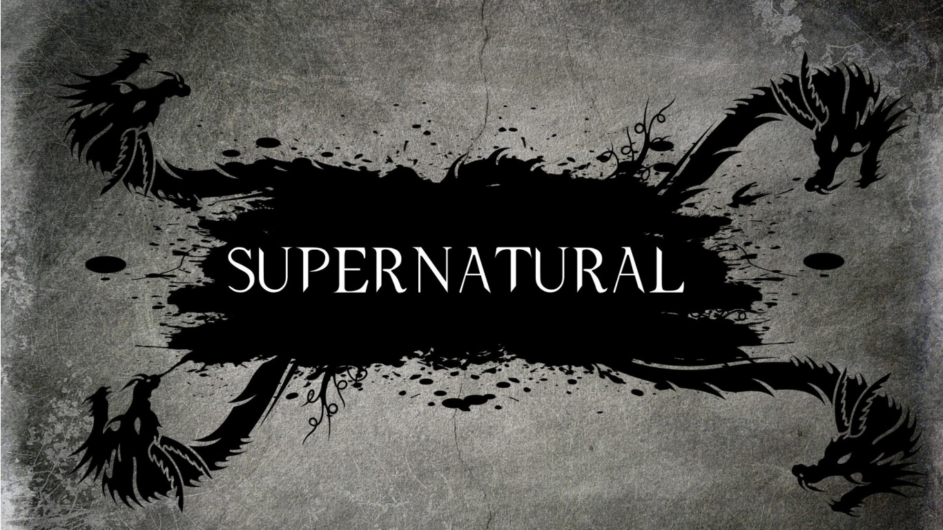 Supernatural Tv Series Logo   1366x768   493530 1366x768