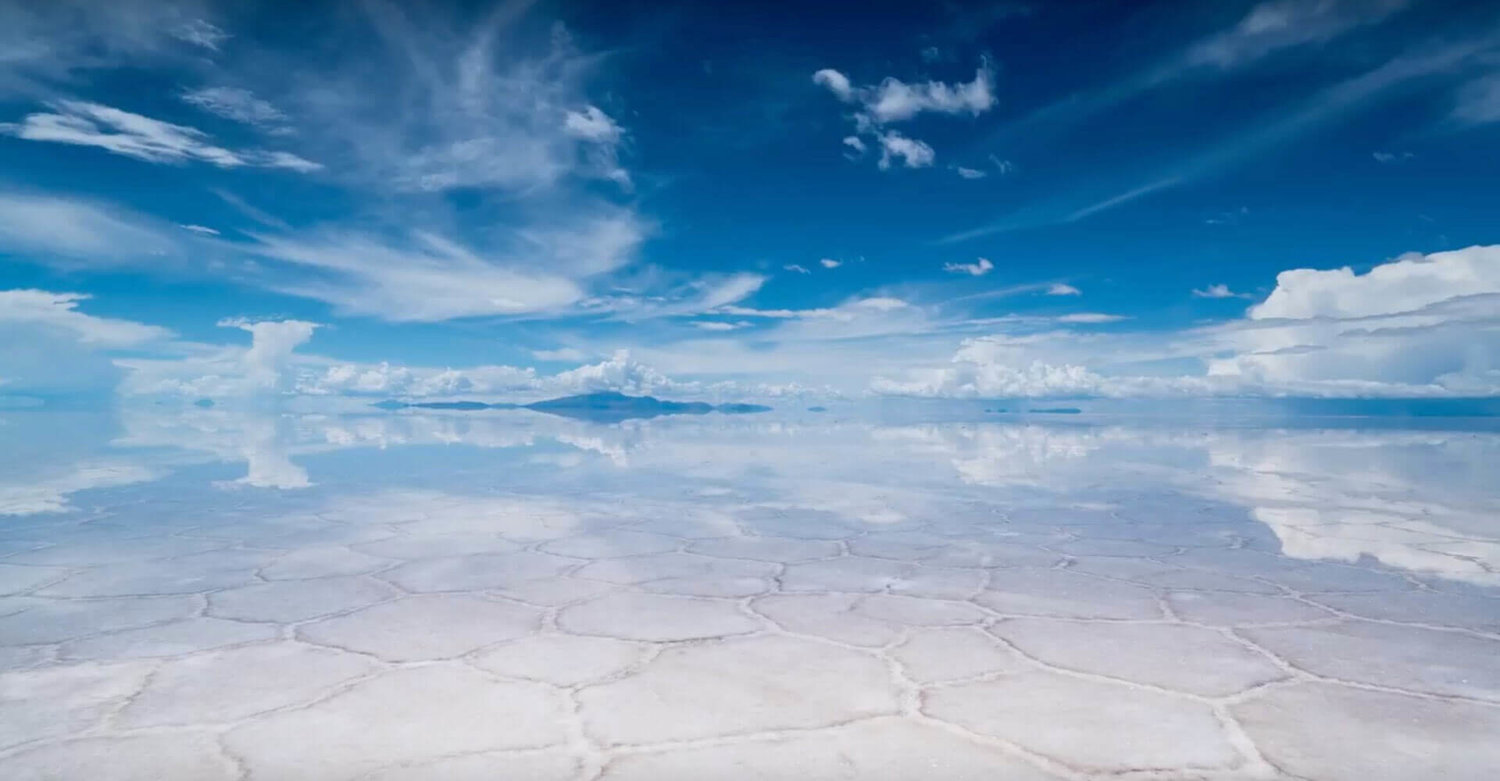 Piles Of Salt Salar De Uyuni Bolivia wallpaper 1500x781