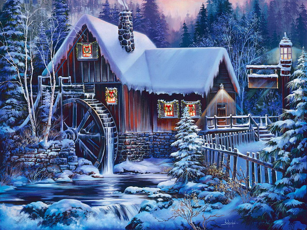 49] Winter Scenes Live Wallpaper on WallpaperSafari 1024x768