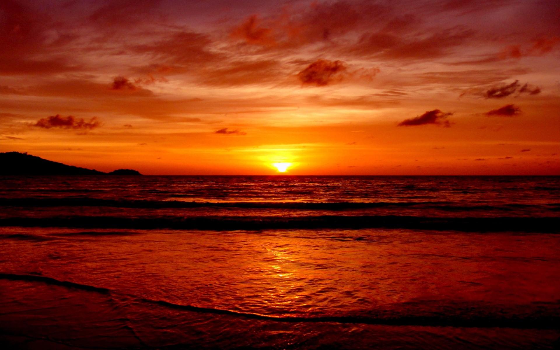 Peaceful Surf 4K Sunset Wallpapers 4K Wallpaper 1920x1200