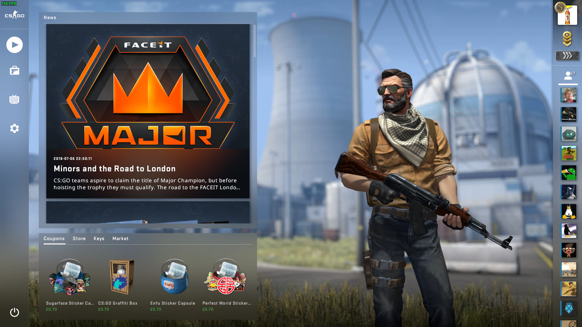 Counter Strike Global Offensive Officially Released Panorama UI 1920x1080