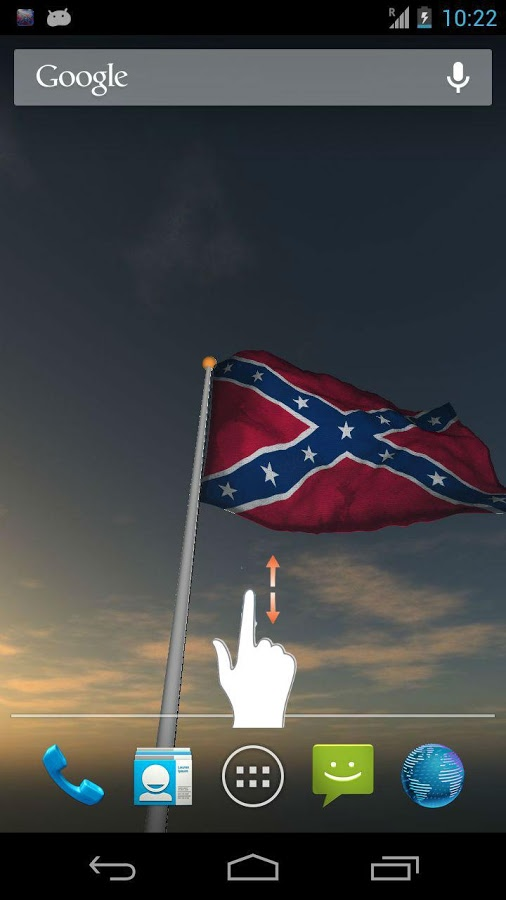 Real Rebel Flag Live Wall   screenshot 506x900