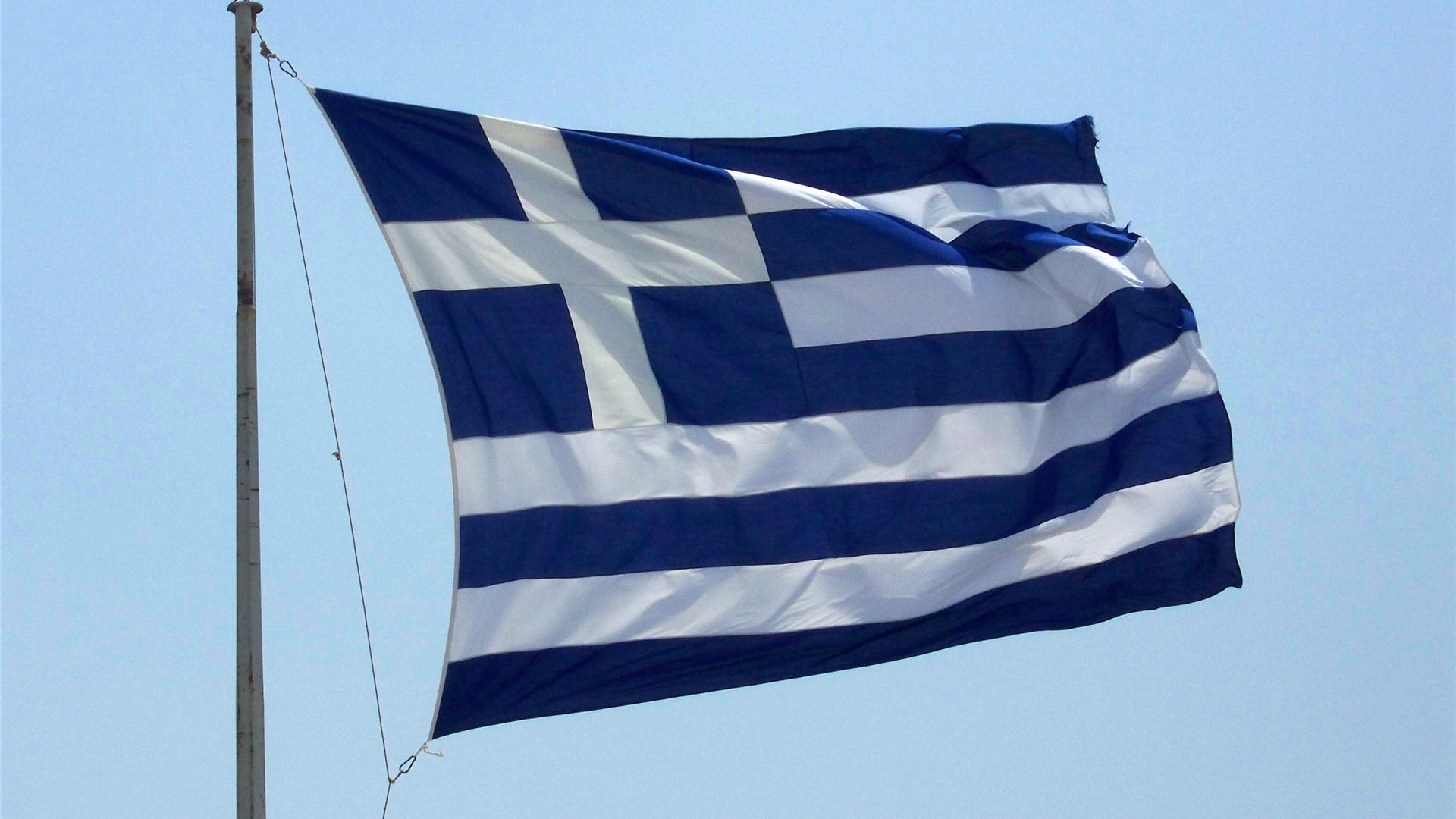 Greek Flag Background Wallpaper HD 1920x1080 6397 1920x1080