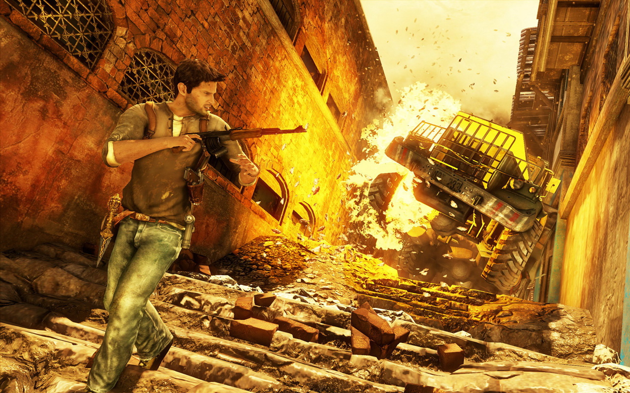 Uncharted 2 Among Thieves Wallpaper in 1280x800 1280x800