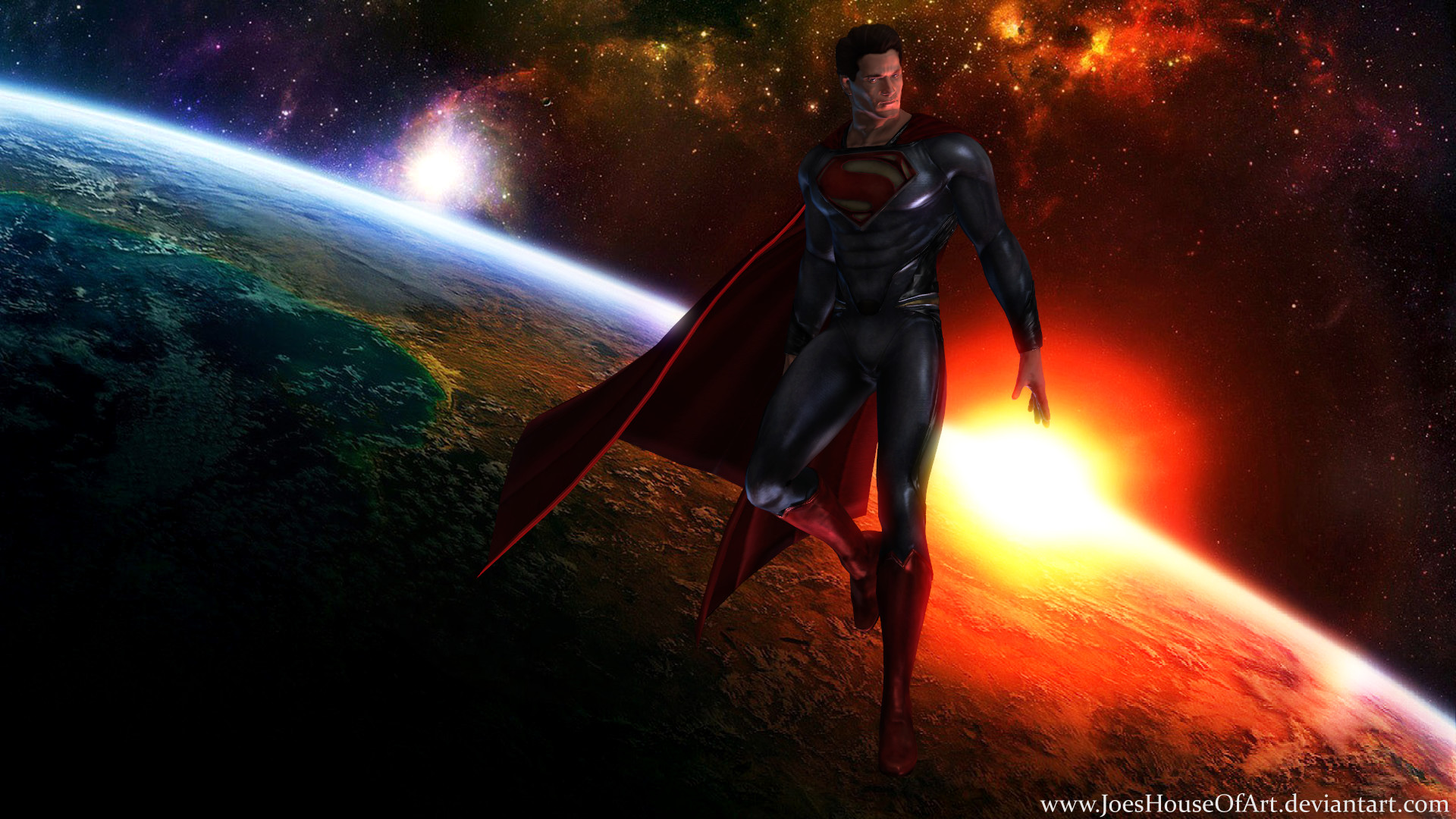 Superman   Man of Steel wallpaper by JoesHouseOfArt 1920x1080